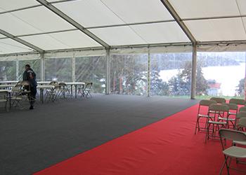 teppe og løpere gulv utleie telt